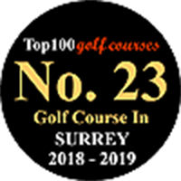 No. 23 Golf Course in Surrey 2018 - 2019